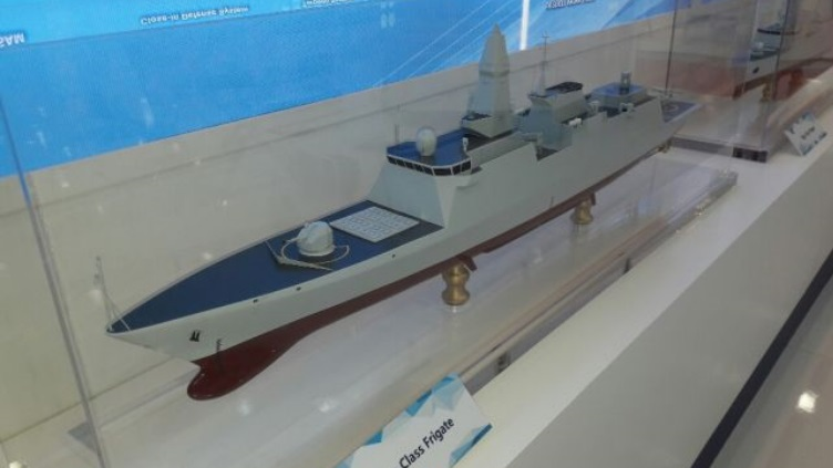 简氏:中国展出新型外贸护卫舰 展示最新技术