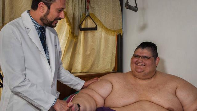 励志!世界最重男子4个月狂减170公斤