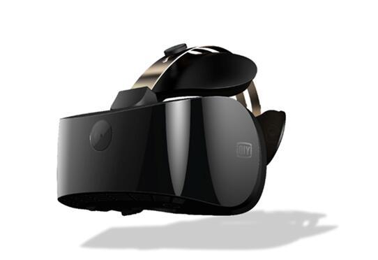 爱奇艺发布首款4K VR一体机及人工智能虚拟人物