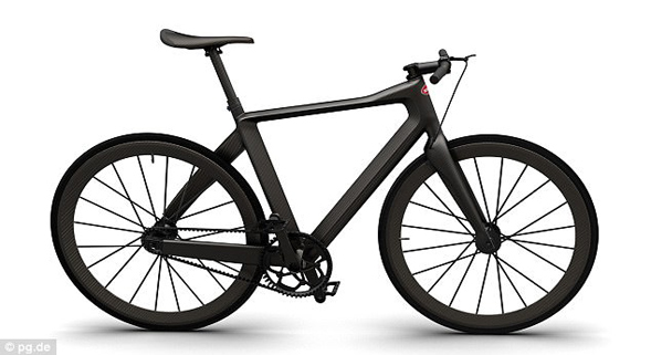 全球最轻自行车问世:不到5公斤要价27万元
