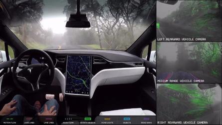 特斯拉更新Autopilot系统 新增自动变道功能