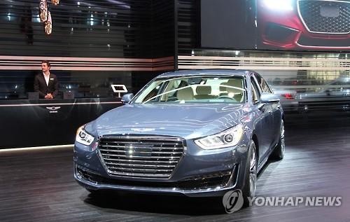 现代考虑明年在华推出捷恩斯品牌豪华轿车