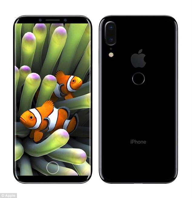疑似苹果iPhone_8原型机曝光