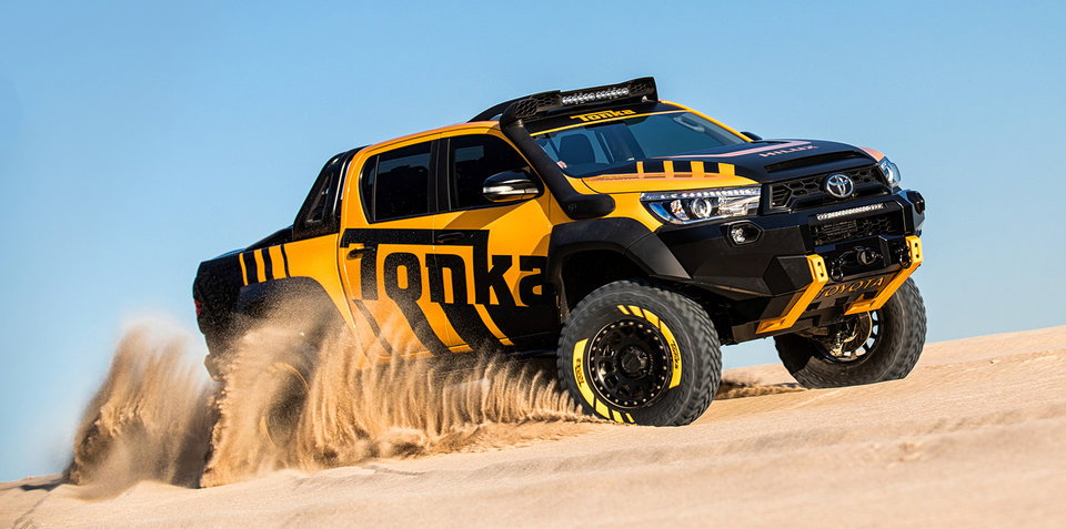 丰田HiLux Tonka概念车发布 越野能力升级