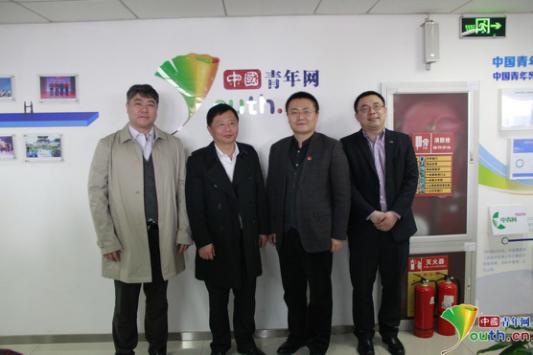 上汽大通做客中国青年网 关注青少年健康成长
