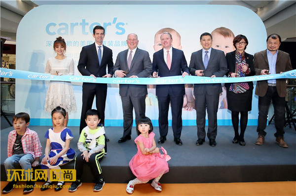 婴童装品牌Carter's宣布正式进入中国市场