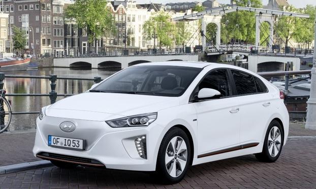 现代开发电动车专用平台 续航里程300公里以上