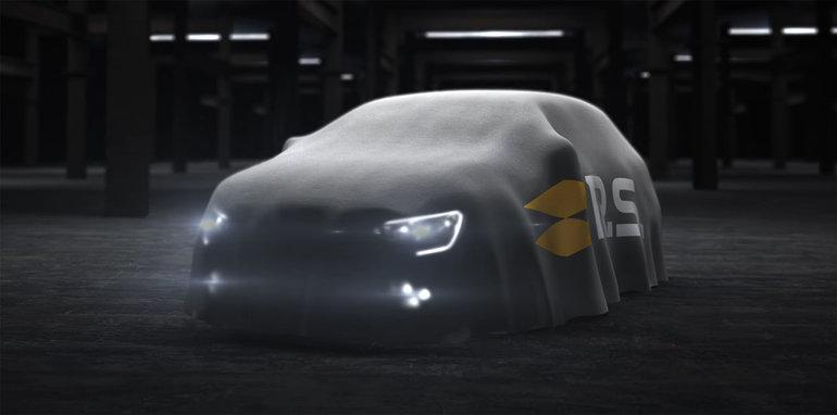 2018新款梅甘娜RS预告图发布 或9月亮相