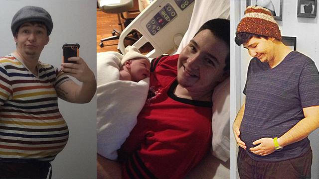 变性男子成功怀孕生下女儿 曾拒绝亲自哺乳