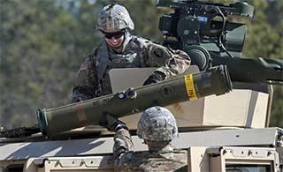 美国陆军测试最新反坦克导弹