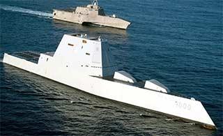 DDG1000和濒海战斗舰并驾齐驱