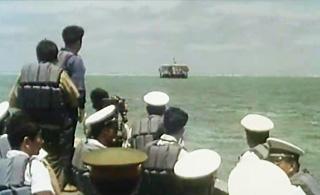 80年代中国海军进驻南海岛礁 这些画面不多见