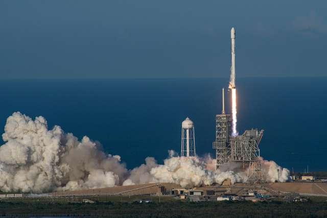 当天的发射在美国佛罗里达州肯尼迪航天中心进行