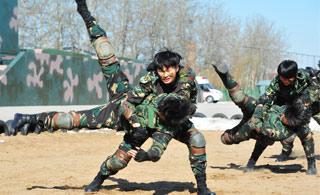 全军首个女子特战连战力不是盖的