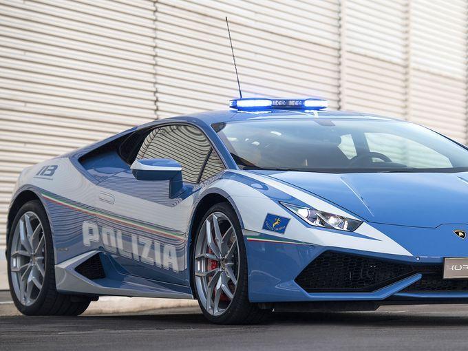 厉害了 兰博基尼向意大利警局赠送超跑