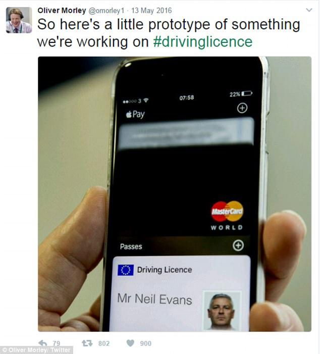 英国将使用电子驾照 查驾照只需掏手机
