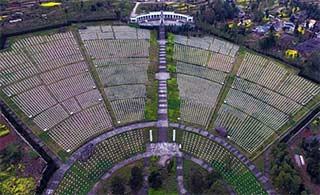 全国最大烈士陵园埋葬2.5万红军