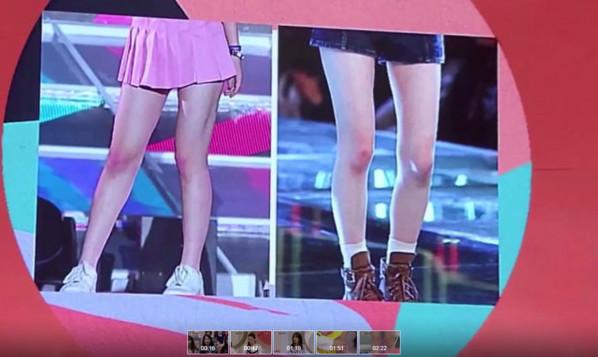 韓女團膝蓋都是粉色的!原來竟是因為這
