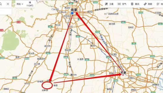 河北雄安新区设立 与深圳特区浦东新区同级别