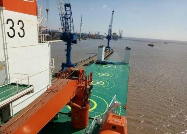 简氏关注中国新型重型半潜船:应对台海方向