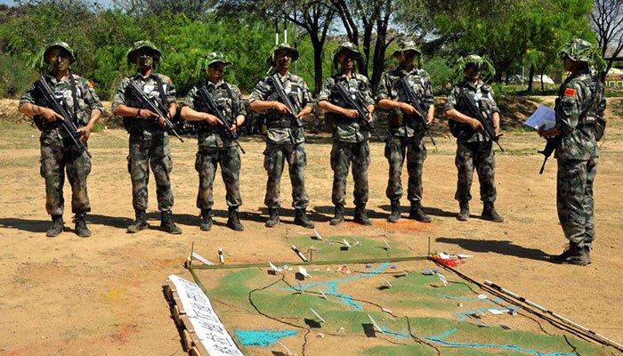中国陆军特种部队首次参加巴基斯坦团队精神竞赛