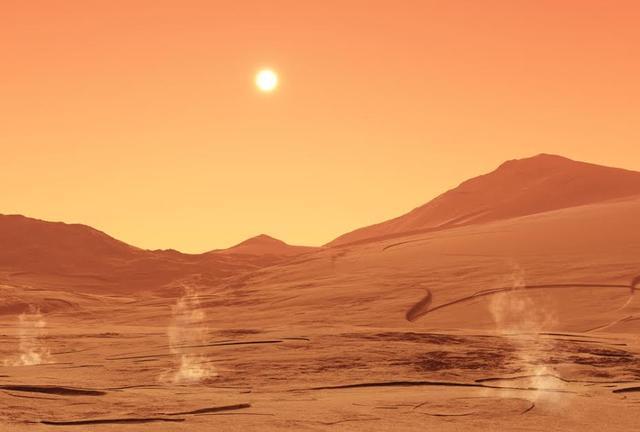 火星为何又干又冷 因太阳风吹散了远古大气