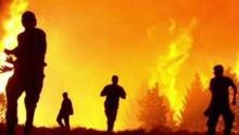 村民上坟烧纸引发山火 4名灭火队员死亡