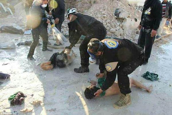 多架战机疑向叙利亚西北空投毒气 致58人死亡