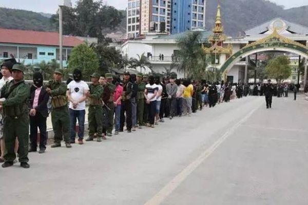缅甸370名中国人涉电信诈骗被一锅端