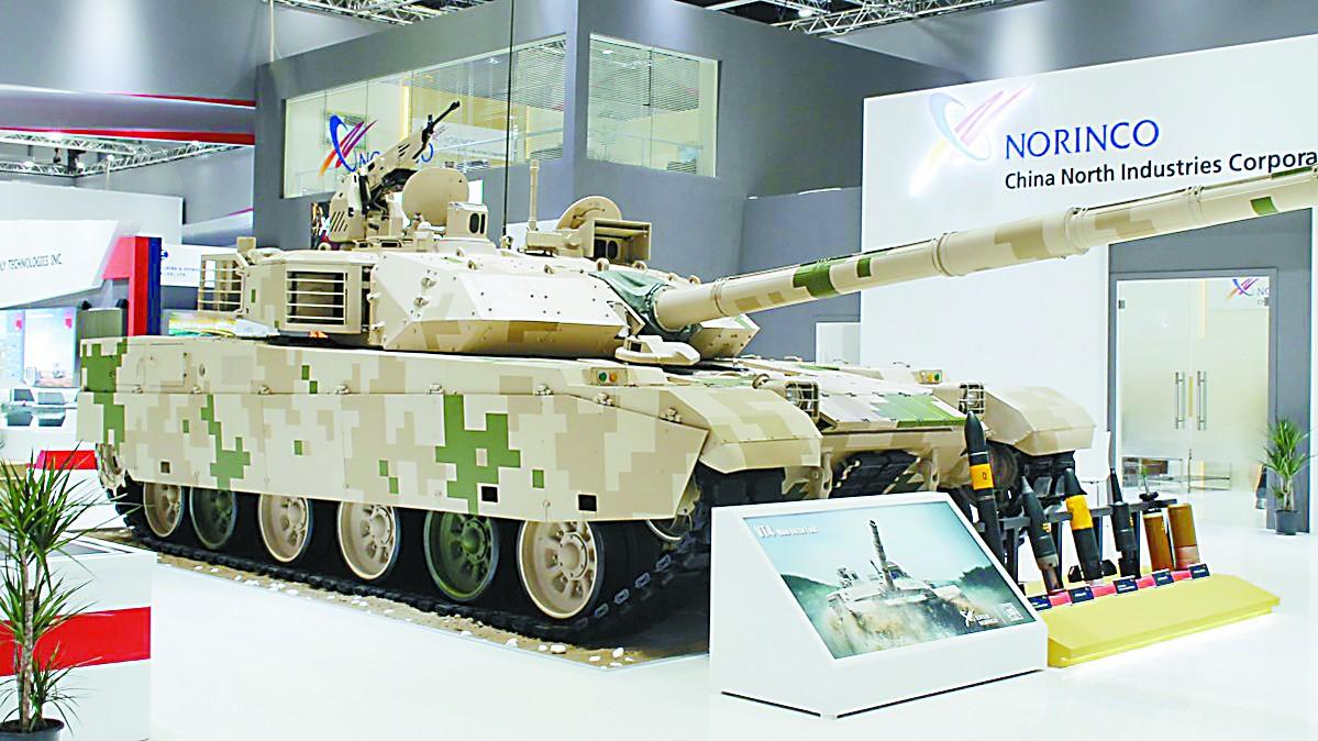 中国VT4坦克再获泰国10辆订单 不再靠廉价取胜