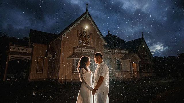 新西兰女子心脏移植手术前办浪漫婚礼