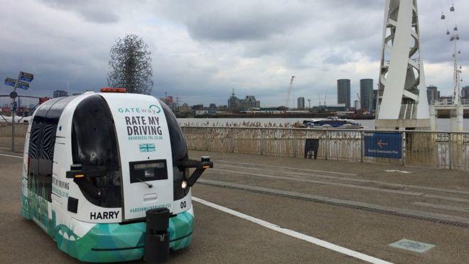 伦敦4月路测无人驾驶巴士 有望2019年上路