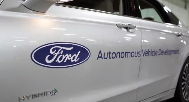 自动驾驶汽车综合排行榜 福特居首/百度垫底