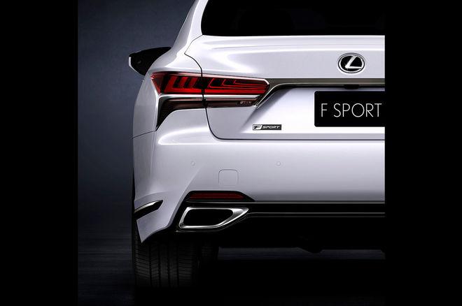 雷克萨斯发布全新LS 500 F Sport预告图 4月亮相