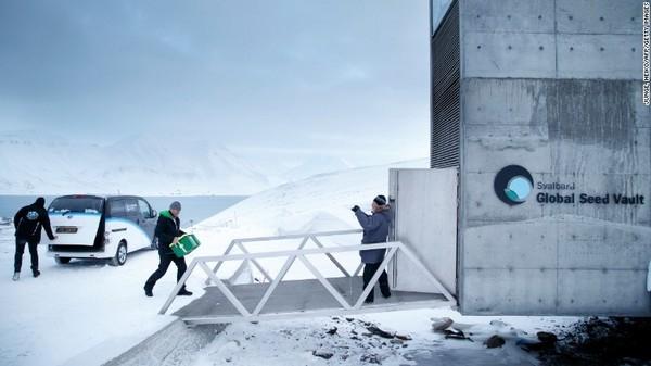 """挪威""""末日图书馆""""启用:防止人类文明灭绝"""