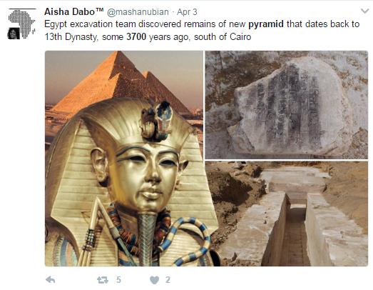 埃及发现3700年前金字塔 内部结构非常完整