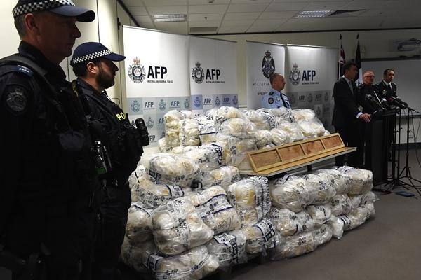 澳大利亚破获史上最大毒品案 缴获903公斤冰毒估值9亿美元