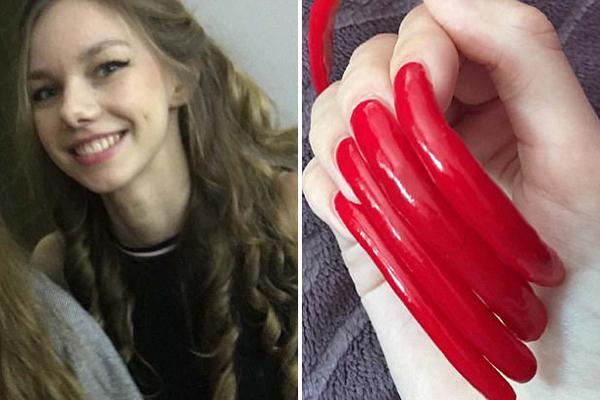 德16岁学生拒剪指甲 3年后长至15厘米