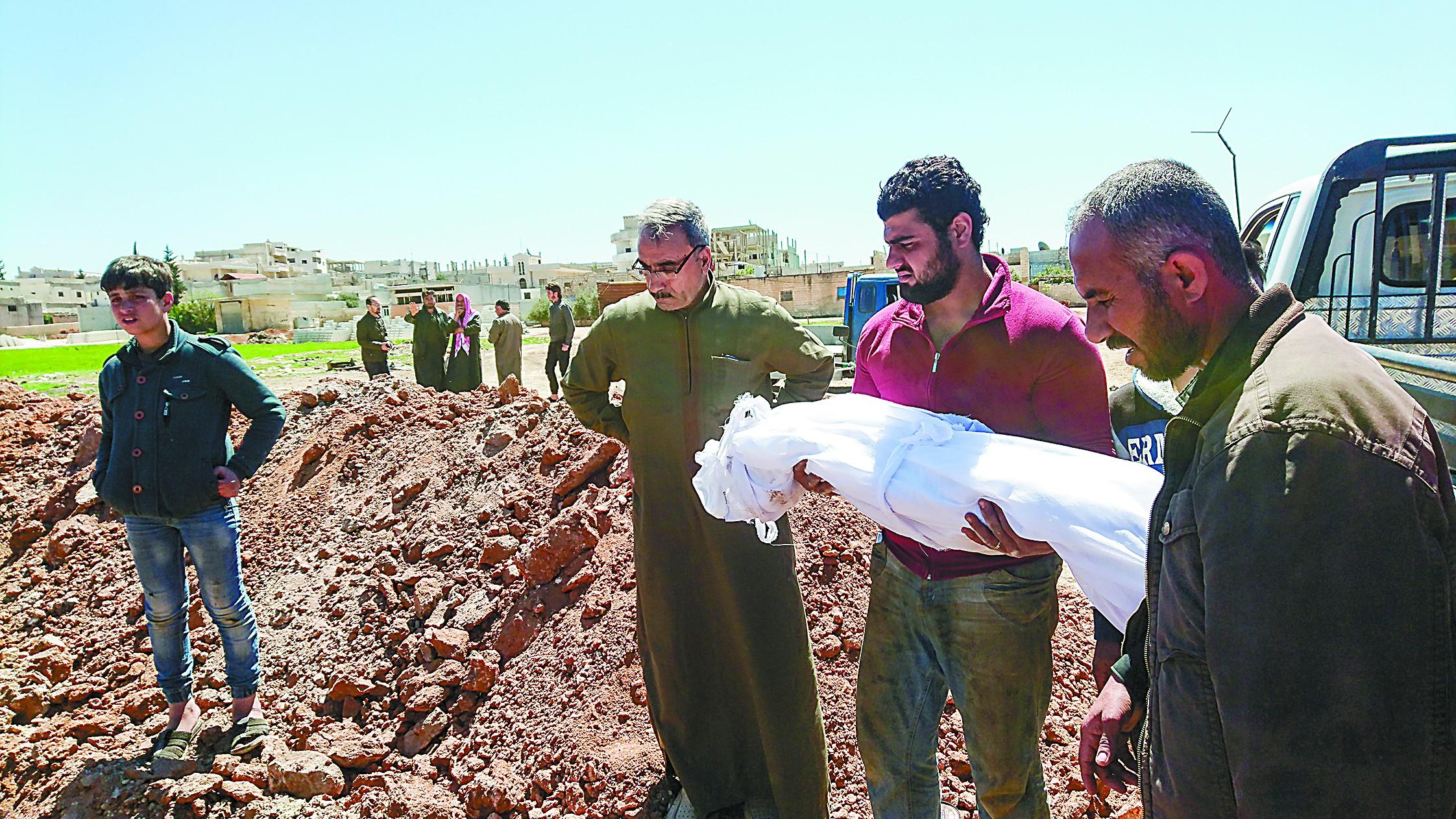 叙利亚化武疑云加剧大国角力 中方主张公正调查