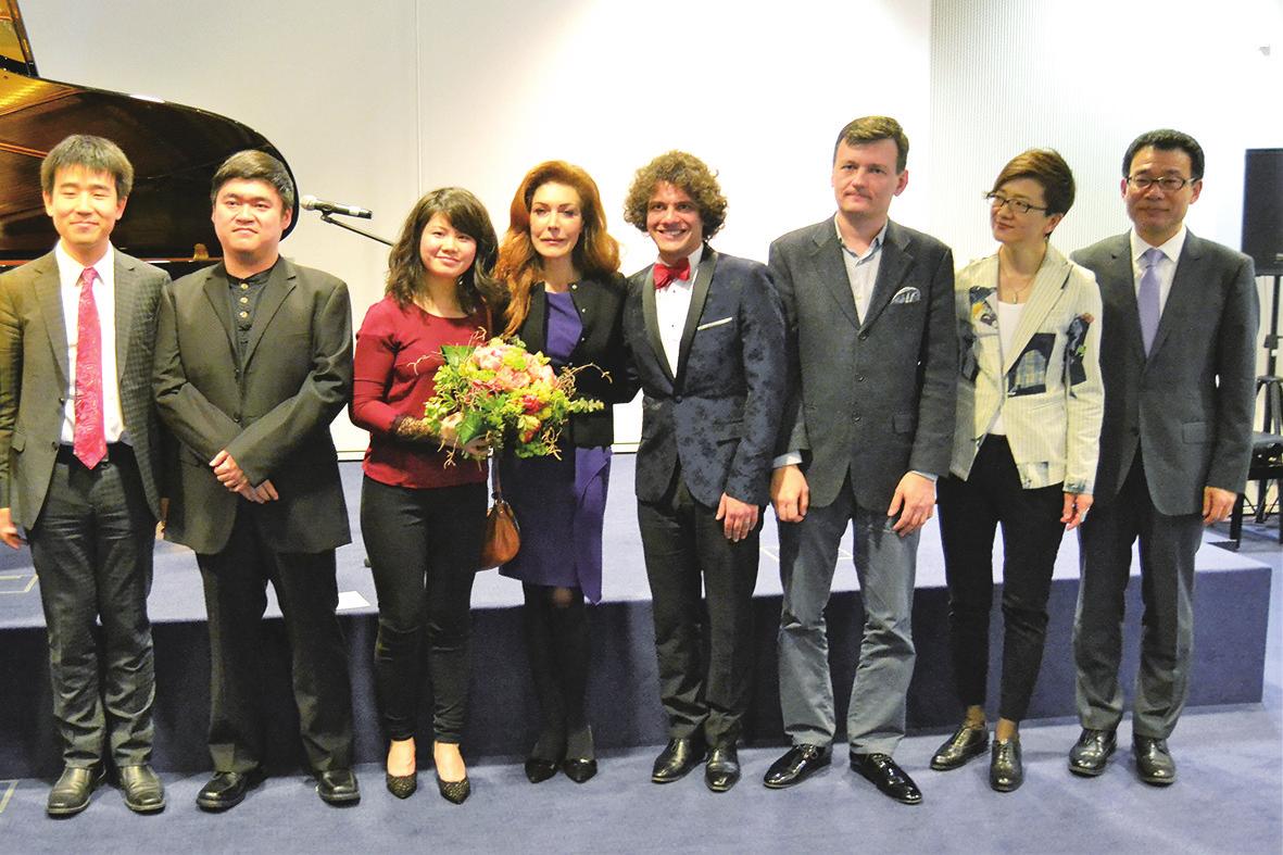 中国选手闪耀德国国际钢琴大赛