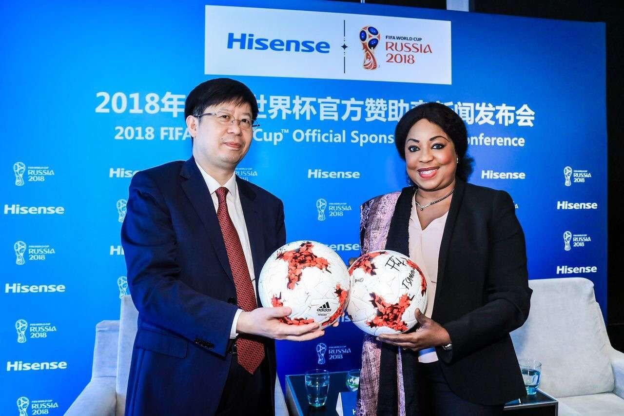 """中国海信""""杀入""""2018俄罗斯世界杯决赛圈"""