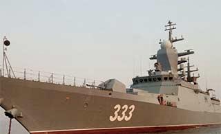 俄最先进轻型护卫舰太平洋试航