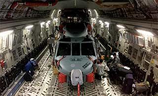 C17吞下黑鹰直升机空间剩很多