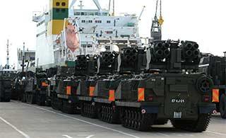 英军老旧装备运往爱沙尼亚部署