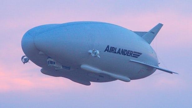 """""""飞天屁股""""Airlander 10将配备全新辅助着陆系统"""