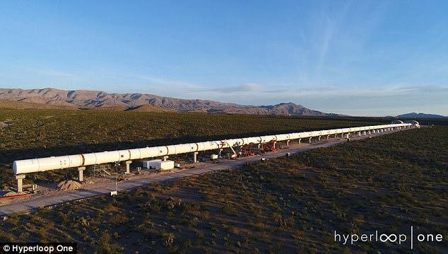 美国超级高铁项目准备开始进行公开运行测试
