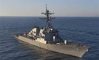 这3艘美军舰对叙发射巡航导弹?