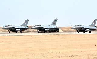 埃及购买阵风战机率先交付