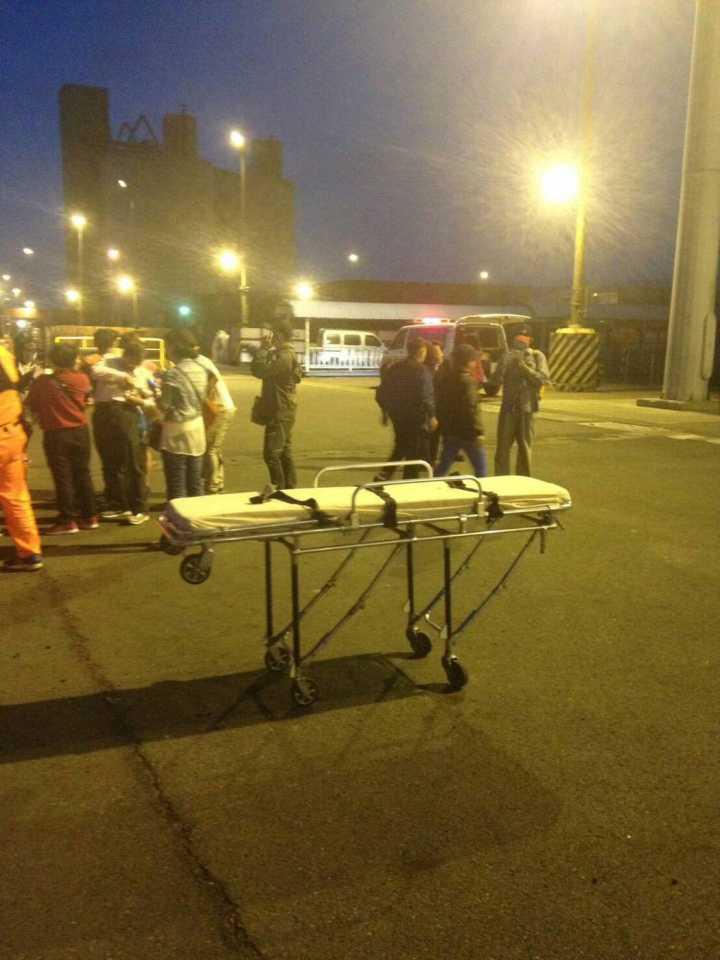 台一客轮在嘉义外海搁浅 346名乘客全部脱险