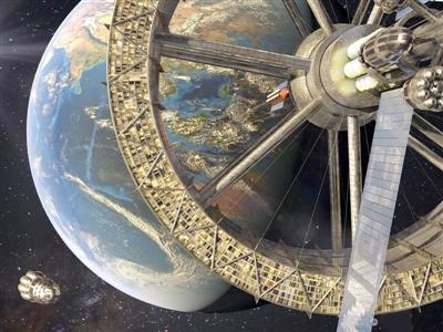 科幻终会实现?搭乘电梯去太空或许没什么不可能